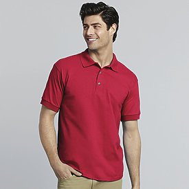 Gildan Ultra Cotton 100% 6.1 oz. Jersey Knit Golf Shirt