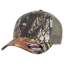 FLEXFIT Breakup Camo Trucker Cap