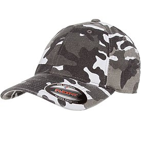FLEXFIT Washed Camo Cap