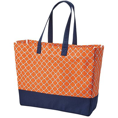 BROOKSON BAY BAGS Full Pattern Beach Tote
