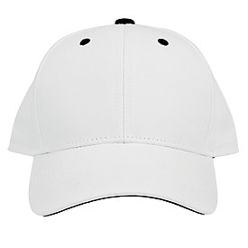 The Game Headwear White Twill Snapback Cap