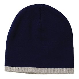 Sportsman Cap Bottom Stripe Knit Cap