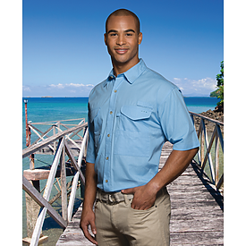 Hilton Short Sleeve Fishermen Shirt