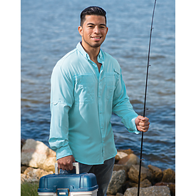 Hilton Long Sleeve Baja Fishing Shirt