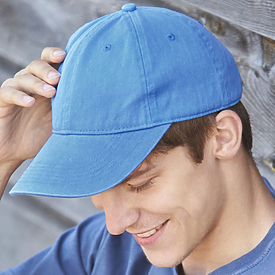 COMFORT COLORS Pigment Dyed Canvas Baseball Cap