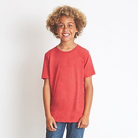 Next Level 4.3oz Boys Triblend Crew T